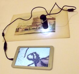 Microscopio USB con Tablet, ultraportatile