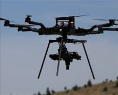 Drone carried Hyperspectral system