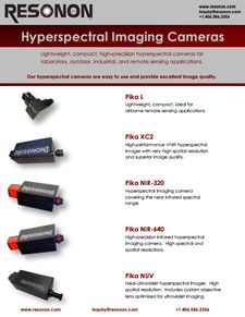 Lenses and accessories for Hyperspectral imaging